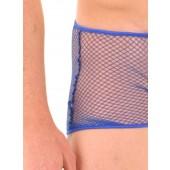 Fishnet boxer shorts
