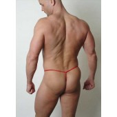 Stretch lace men's g-string