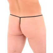 Wet Look g-string with sheath