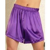Stretch satin boxer shorts